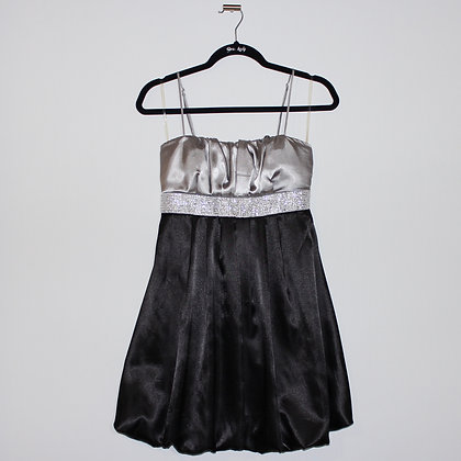 Juniors Size 9 Silver Party Mini Dress