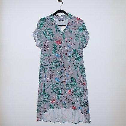 Floral High-low Summer Dress LCWaikiki Size Large