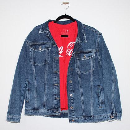 Mavi Jeans Light Wash Boyfriend Jean Jacket Large