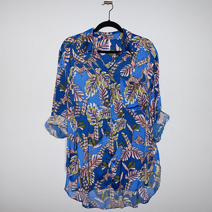 Free People Under the Palms Shirt Size Large