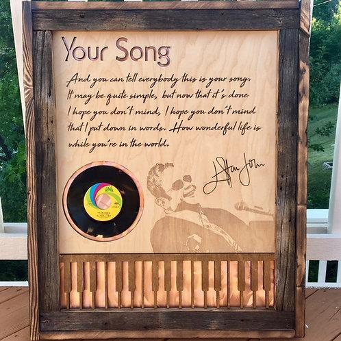 Custom Musician Vinyl Showcase