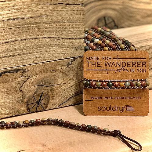 souldryft picasso jasper journey bracelet