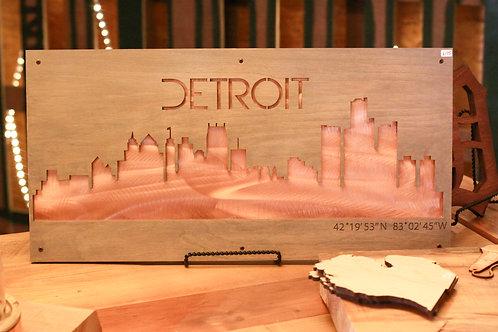 detroit skyline sign