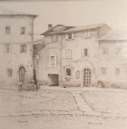 The Village Square by Janette Garbuio  P