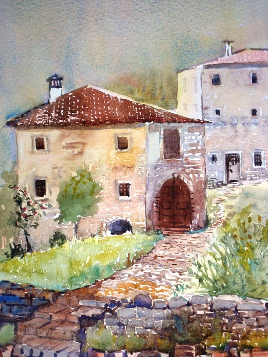 Tuscany in Watercolour