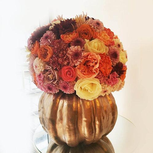 Calabaza de flores