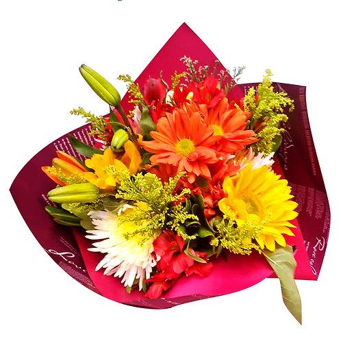 Bouquet de flores mixtas