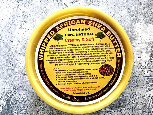 Whipped African Shea Butter