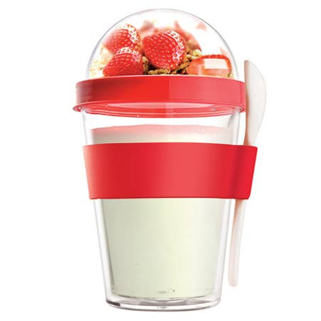 Yogurt On The Go - Red