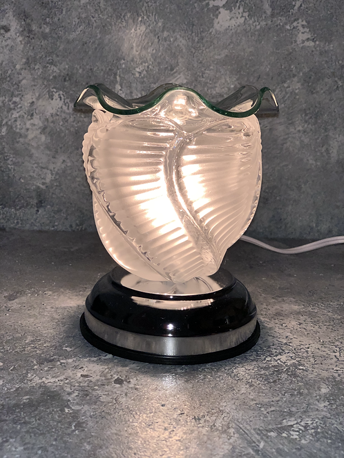 The Corded Clear Wave Lamp