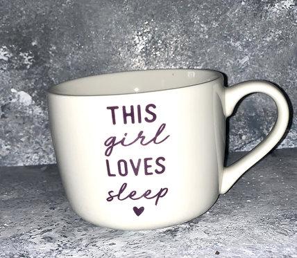 This Girl Loves Sleep