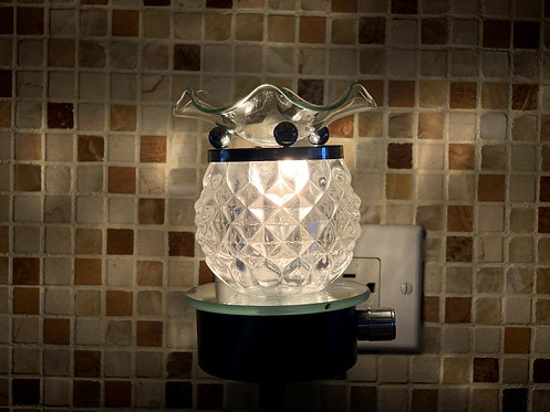 The Plug In Clear Me Lamp