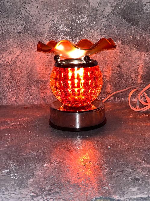 The Corded Solar Orange Lamp