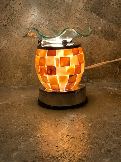 The Corded Mother Of Pearl Lamp