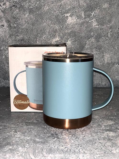 Baby Blue Vacuum Insulated Coffee Mug