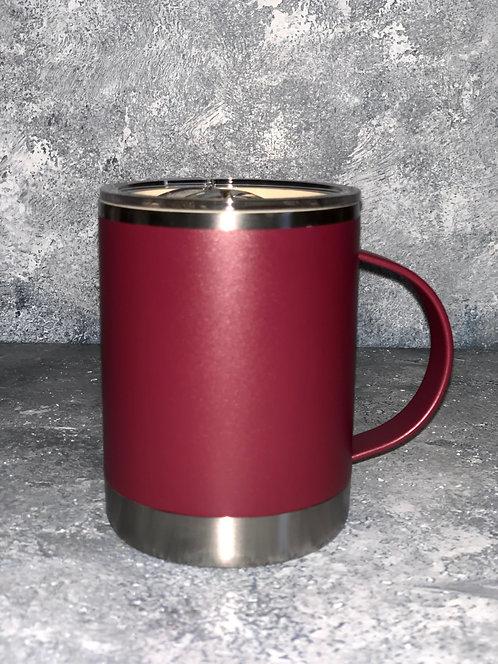 Maroon Vacuum Insulated Coffee Mug