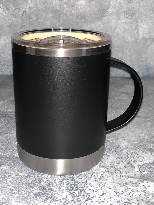 Black Vacuum Insulated Coffee Mug