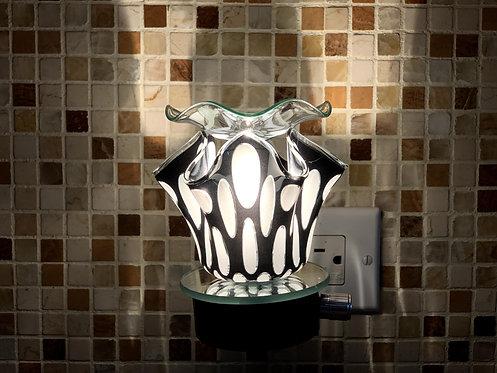 The Plug In Zebra Lamp