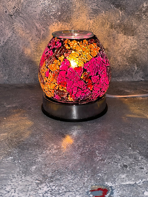 The Corded Marbled Lamp