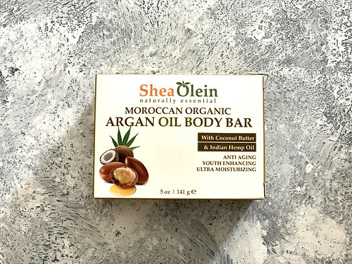 Moroccan Organic Argan Oil Body Bar