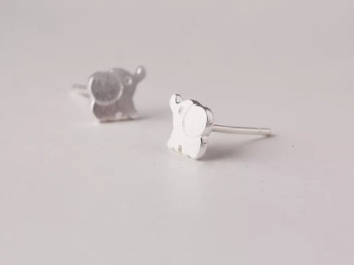Sterling silver earrings in pillow box
