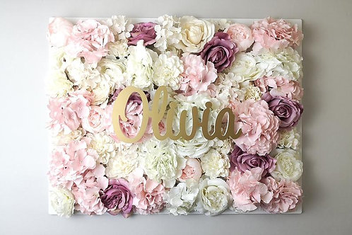 Name/plain Flower panel