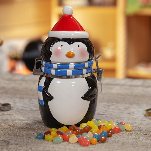 Penguin sweet holder