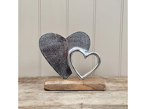 Heart stand or tealight holder
