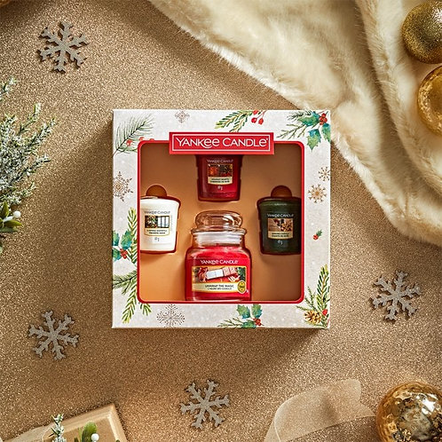 Yankee candle giftset with small candle
