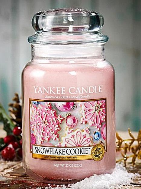 Snow flake cookie