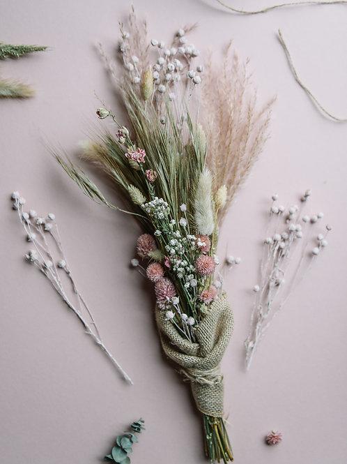 Dried Prinny Pink Flowers
