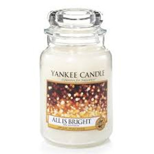 All is bright Yankee candle