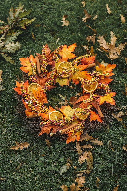 Elizabeth Autumn wreath