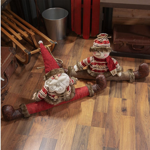 Cute Santa or Snowman draft excluder