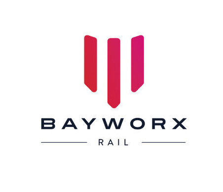 BAYWORX RAIL LOGO DESIGN