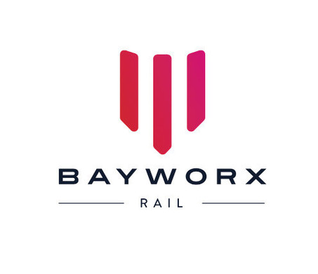 BAYWORX RAIL LOGO DESIGN