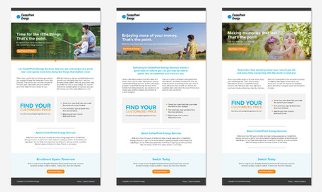 CENTERPOINT EMAIL CAMPAIGN