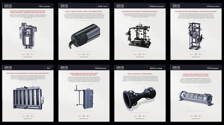 STEAM SOLUTIONS SALES SHEETS