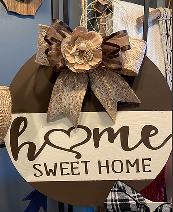 Home Sweet Home Door Hanger