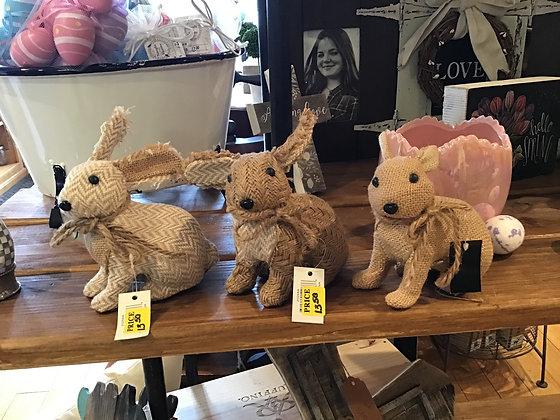 Twine Bunny - 5 inch