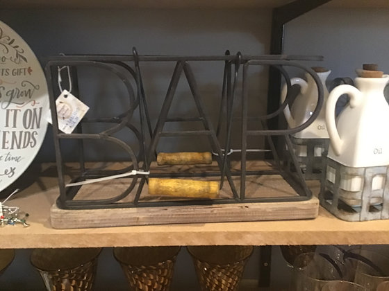 3 Bottle BAR Wine Caddy