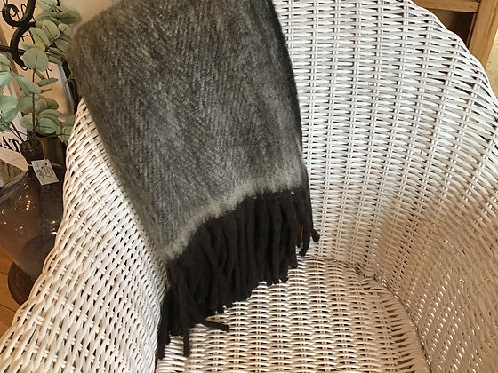 Brushed Blend Throw - Brown