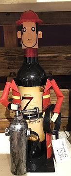 Fireman Wine Caddy