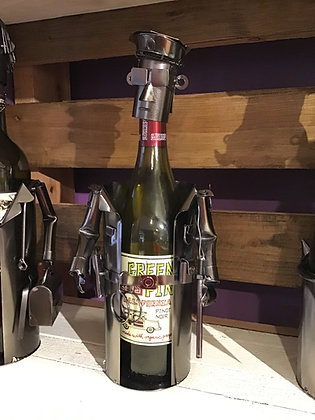 Police Officer Wine Caddy