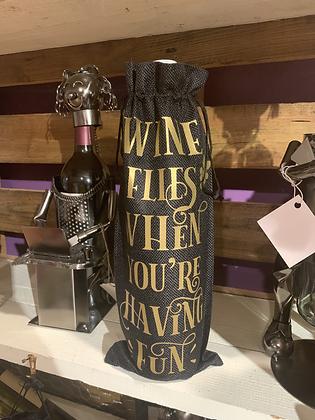 Wine Gift Bag - Wine Flies