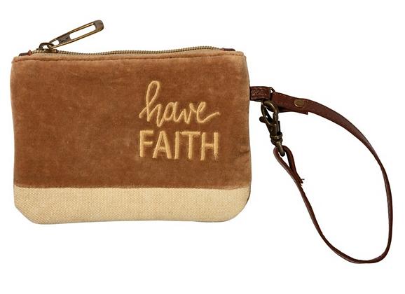 Have Faith Wristlet