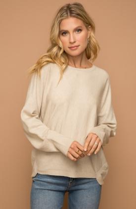 Oversized Sweater - Cream