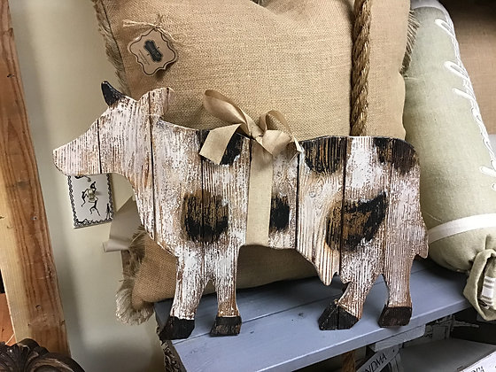 Cow Rustic Wall Decor