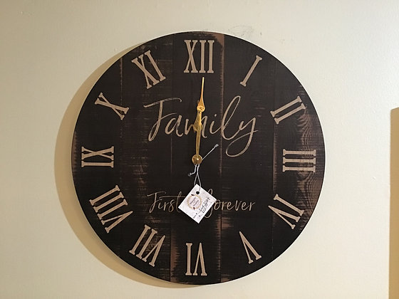 Family First Clock