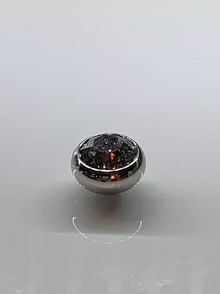 Silver Patina 10mm SESTO Topper